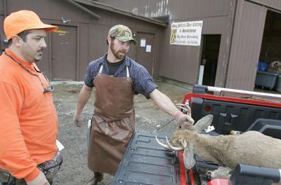 FILE - Deer hunting