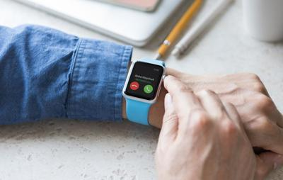 FILE - Apple watch robocall