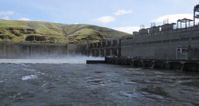 FILE —Snake River dam