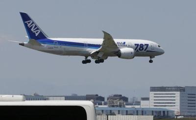 FILE — Boeing 787 jetliner