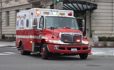 FILE - Ambulance