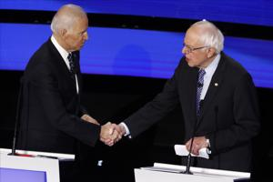 As Biden extends delegate lead, candidates look ahead to four big St. Patrick's Day primaries