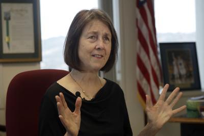 FILE - California state Sen. Nancy Skinner