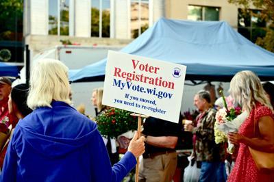 FILE - WI voter registration 9-7-2019