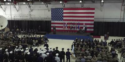 U.S. Space Command ceremony