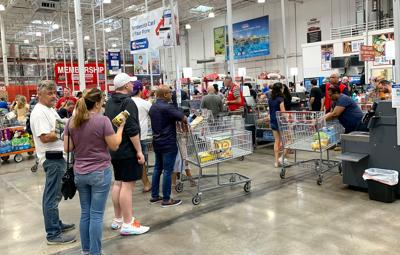 FILE - FL grocery shopping 10-26-2019