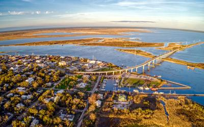 FILE - FL Apalachicola bridge