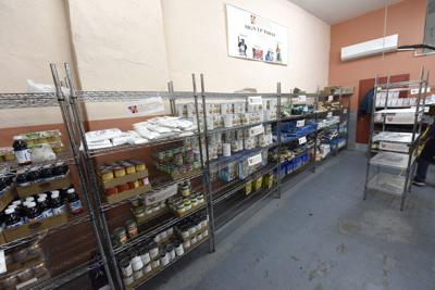 FILE - food pantry, food stamps, SNAP, food band