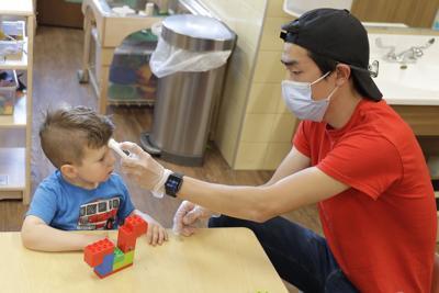 FILE - Virus Outbreak Child Care