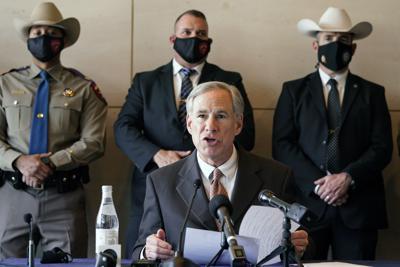 FILE - Texas Gov. Greg Abbott
