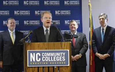 FILE - Peter Hans North Carolina Community Colleges President