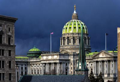FILE - Pennsylvania State Capitol