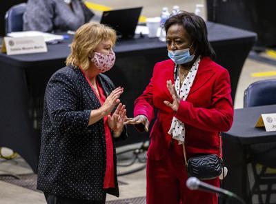 FILE - Virus Outbreak Illinois Legislature, Illinois State Rep. Terri Bryant