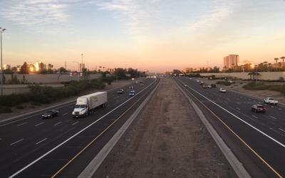 FILE - Phoenix Arizona Freeway