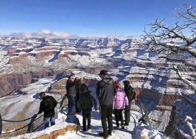 FILE - Grand Canyon National Park Tourism Spending
