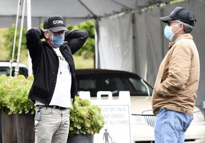 Virus Outbreak Sean Penn California