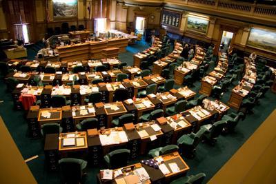 FILE - Colorado House chamber