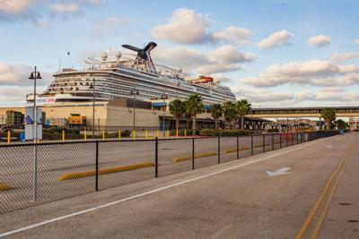 FILE - Texas cruise ship