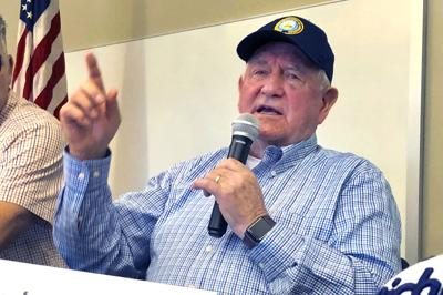 FILE - U.S. Agriculture Secretary Sonny Perdue