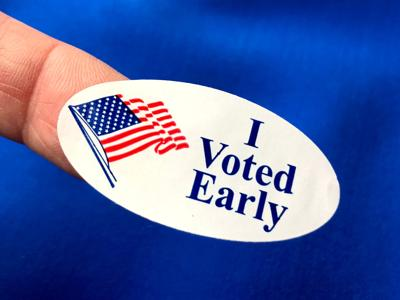 FILE - Early voting