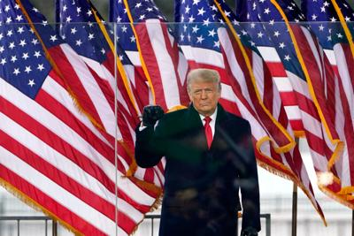 FILE - US Donald Trump 1-6-2021