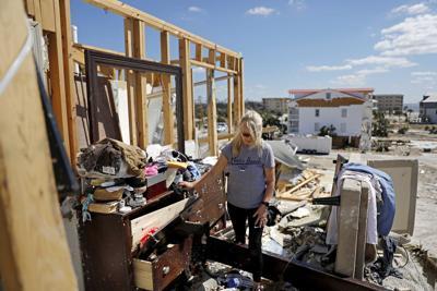 FILE - Hurricane Michael Florida