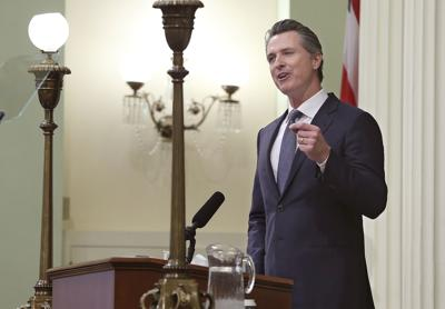 FILE - California Gov. Gavin Newsom