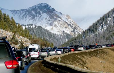 FILE - Colorado interstate traffic