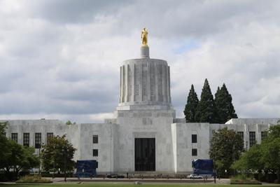 FILE - Oregon state capitol building