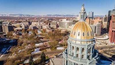 FILE - Colorado State Capitol
