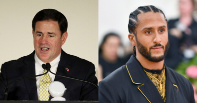 AZ Gov. Doug Ducey and Colin Kaepernick