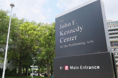 FILE - The John F. Kennedy Center for the Performing Arts