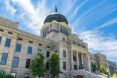FILE - Montana state capitol