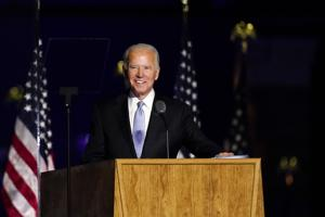 Biden claims mandate in first address to America since declaring victory
