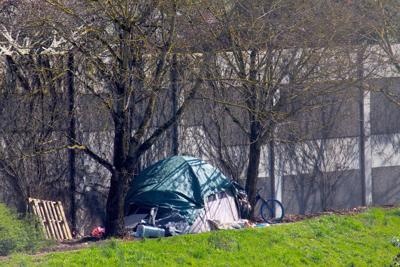 FILE —Salem homeless camp