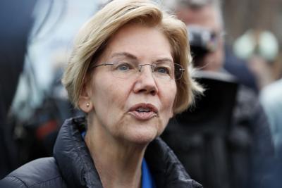 FILE - Election 2020 Elizabeth Warren