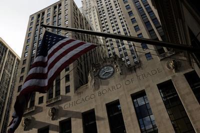 FILE - Chicago Board of Trade. 2014