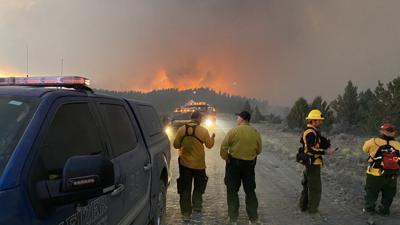 FILE —Oregon Keizer Fire District Bootleg Fire