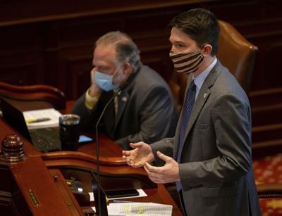 FILE - Steve McClure, Illinois Legislature, 2020