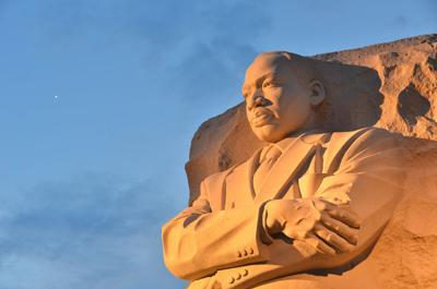 FILE - Martin Luther King Jr. Memorial