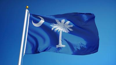 FILE - South Carolina flag