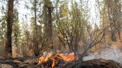 FILE –Bootleg Fire hotspot