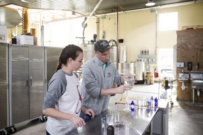 Pennsylvania distillery hand sanitizer