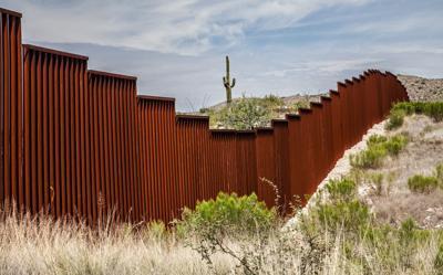 FILE - Border wall