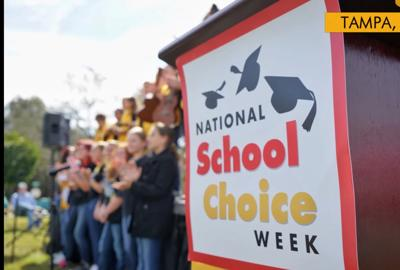 FILE - School choice week