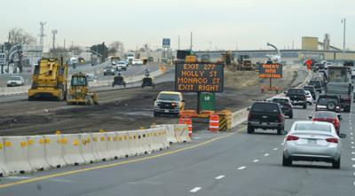 FILE - Colorado Interstate 70 Construction