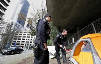 FILE —Seattle homeless