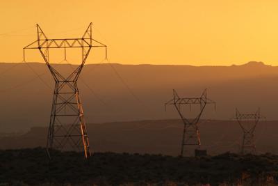 Arizona power lines