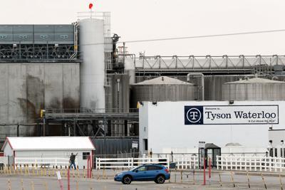 FILE - IA Tyson Foods 5-1-2020