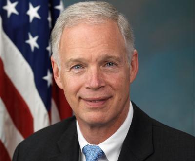 FILE - U.S. Sen. Ron Johnson, R-Wisconsin